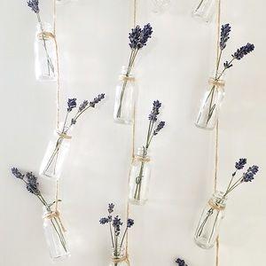 Boutique | Hanging Glass Bottles